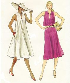 80s Very Easy Vogue Sewing Pattern 7684 Womens by CloesCloset