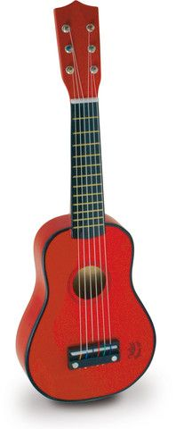 Vilac - Red Guitar. Available at bonjourpetit.com