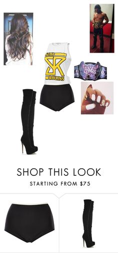 """""""WWE (Imagine?)"""" by wwediva3456 ❤ liked on Polyvore featuring Solid & Striped"""