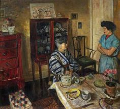 Interior by Carel Victor Morlais Weight