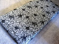 The how to for the little girls DIY fabric headboards. It's a good one.