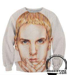 Eminem Clothing - Slim Shady Face Hoodie - 3D Hip-Hop Hoodies