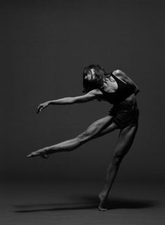 Look at the muscle development on this beautiful woman and try and tell me dancers aren't athletes.