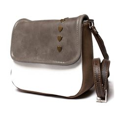 Mini messenger bag messenger purse leather by BrandiaManufacture