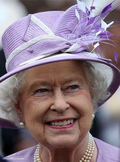 Queen Elizabeth, July 1, 2015 in Angela Kelly