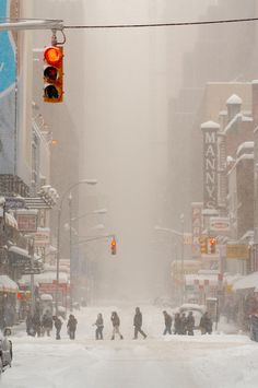 Blizzard New York City