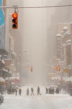 Blizzard New York City