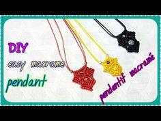 Macrame Rings, Macrame Necklace, Macrame Knots, Macrame Jewelry, Macrame Bracelets, Crochet Necklace, Rope Braid Tutorials, Micro Macrame Tutorial, Collar Macrame