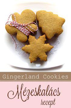 Mézeskalács recept #mézeskalács #gingerbread Hungarian Desserts, Hungarian Food, Hungarian Recipes, Gingerbread Recipes, Gingerbread Cookies, Biscuits, Honey, Christmas, Products