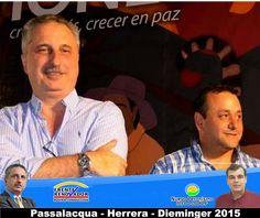 Se definió la formula el Ministro de Salud Dr.  Oscar Herrera Ahuad candidato a Vicegobernador.   #Passalacqua2015 #Herrera2015 #Dieminger2015 #SiSePuede #Obera #Politica