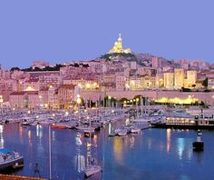 The Old Port of Marseille (Vieux-Port) ,France. The Greeks first created this port over 2,600 years ago. Visit the local restaurants next to the port for a true Bouillabaisse, or French seafood soup.