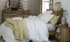 I love the West Elm Country Chic Bedroom on westelm.com/