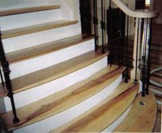 Marvelous Hickory Stairs