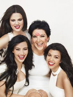 The Kardashians, people always hate on them and even though the show is fake i still like them:]