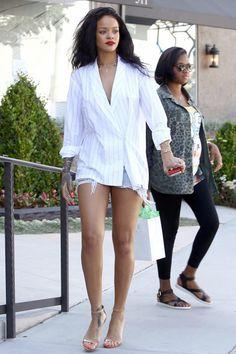 b92f5b5e4a81d Rihanna shopping at Petit Tresor in LA. Rihanna Show