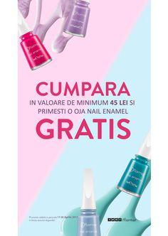 Vesti bune Flormar aduce! Va asteptam cu mare drag in magazinele Flormar si pe site-ul http://www.flormarcosmetics.ro/ pentru a beneficia de promotie!