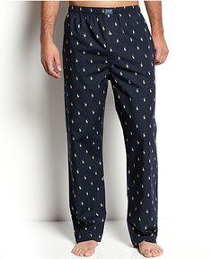 New men/'s sleep or loungewear pants gray with footballs drawstring waist