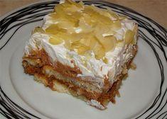 Ελαφρύ,πεντανόστιμο,πολύ εύκολο να φτιαχτεί και οικονομικότατο!Δοκιμάστε το! Greek Sweets, Greek Desserts, No Cook Desserts, Sweets Recipes, Greek Recipes, Desert Recipes, Just Desserts, Easy Sweets, Icebox Cake