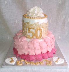 Tarta 50 años de amor