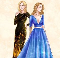 Fireheart and Feyre Darling