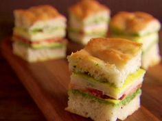 Mini Italian Club Sandwiches Recipe   Giada De Laurentiis   Food Network