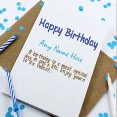 Cool Happy Birthday Cards With Name