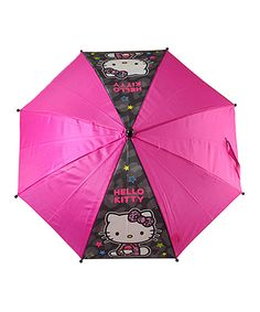 0ec8bdcee018 Another great find on  zulily! Hello Kitty J-Handle Umbrella by Hello Kitty