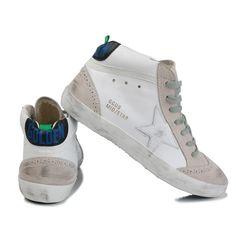 Golden Goose Mid Star Leopard High Top Sneakers In 2020 Golden Goose Sneakers Outfit Suede High Top Sneakers Golden Goose Sneakers