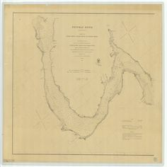18 x 24 inch 1862 Virginia old nautical map drawing chart of Potomac River From Lower Cedar Point to Indian Head Sheet No 3 From U.S. Coast Survey x8690