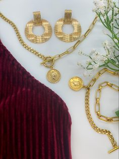It's official Wedding SZN and what better way to stun as a wedding party or guest than in UD? Shop our Best Selling collection for jewelry that turns heads! #weddingaccessories #weddingideas #weddingseason #jewelrydesigner #jewelrylover #goldjewelryset #jewelrysetup Wedding Season, Wedding Accessories, Weddingideas, Best Sellers, Buy Now, Crochet Necklace, Jewelry Design, Gold Necklace, Party