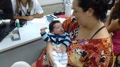 Theo Henrique, com apenas 12 dias de vida, esteve no Poupatempo São Bernardo do Campo para tirar seu primeiro RG com o número do CPF. Ele foi com os pais Danilo e Lilian Cristina. Parabéns à família!