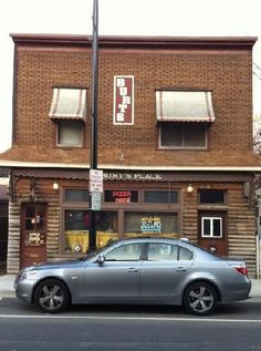 Burt's Place, Morton Grove, Illinois...@Ryan Love  this is the guy who invented deep dish pizza's place..we have to go there, he still makes all the dough himself by hand and he's in his 80's!