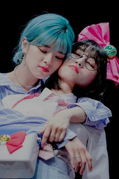 Jeongyeon-Momo♥ Extended Play, Kpop Girl Groups, Kpop Girls, Twice What Is Love, Twice Jyp, Blue City, Dahyun, Girl Day, One In A Million