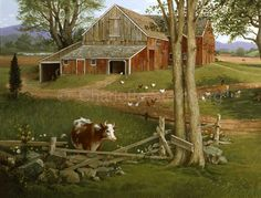 Ives Farm in Cheshire from Favorite Places, Charlotte's biography.
