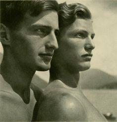 Rudolf Koppitz : Die Bruder -1928, Austria