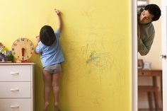 Top 3 Ways of Removing Crayon Stains off Walls: Blow Dryer and Dishsoap