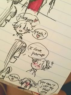 Ren's art blog — Some of the Yoosung/MM twitter doodles I actually...