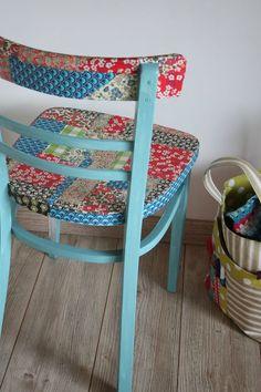 Πέξτε με τα χαρτιά Decopatch και κάντε decoupage πάνω σε μία καρέκλα !