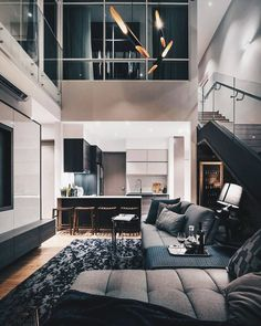 Gorgeous sleek loft