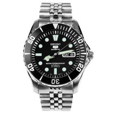 Want * Seiko 5 Sports Automatic Mens Diver Watch SNZF17K SNZF17 Jubilee