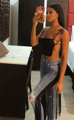 PINTREST @playabray👅 👻 @bad_bxtch25 Instagram @yeahthatsbray & @playabray #explorepage #pinterest Edgy Outfits, Cute Outfits, Fashion Outfits, Womens Fashion, Rihanna Dress, Bodycon Outfits, Afro, Instagram Outfits, Looks Cool