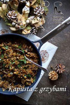 Kulinarne przygody Gatity: Kapusta z grzybami