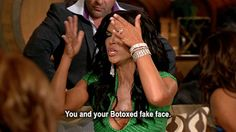 RHONJ. Reunion. Teresa. Real Housewives of New Jersey. Animated. RealityTVGIFs  #RHONJ