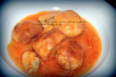 Albóndigas de merluza con salsa de mejillones - http://www.salamancartv.com/contributorpost/albondigas-de-merluza-con-salsa-de-mejillones/