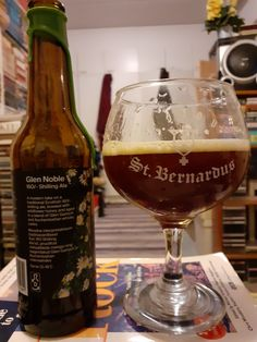 Põhjala Brewing As. collaboration Tempest Brewing Co. - Glen Noble (Cellar Series) 160/-Schilling Ale aged Glen Garioch/Auchentoshan Whisky casks (+Wildflower Honey) 13,2% pullo ****1/4 3.2.2021 KOTONA from ESTONIA OLUT N:o3500 Whisky Honey, Beer Brewery, Brewing Co, Lithuania, Cellar, Collaboration, Ale, Drinking, Russia