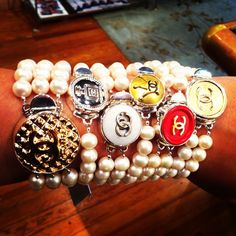 Psst...just a little THANK YOU from Brooks Collection for following us! New Arrivals of Chanel Button Jewelry in TODAY--get your UNIQUE piece of ARM CANDY before it ends up on someone else's arm!