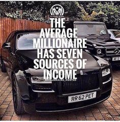 I read it once, dont look for an extra income, create several ways to have a constant stream of money flowing in from different projects