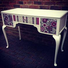 Queen Anne Style Dressing Table