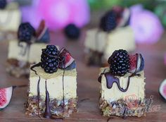 Mango a passion fruit řezy Vegan Cheesecake, Desert Recipes, Nutella, Tiramisu, Mango, Deserts, Quiche, Passion, Fruit