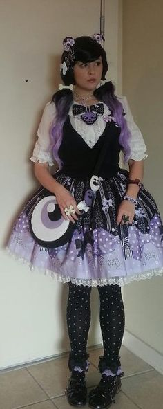 Lilac Lolita (Love everything about this!!! And of course, it's black and purple. Still super obsessed with this color combo)